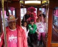 Survivors in pink