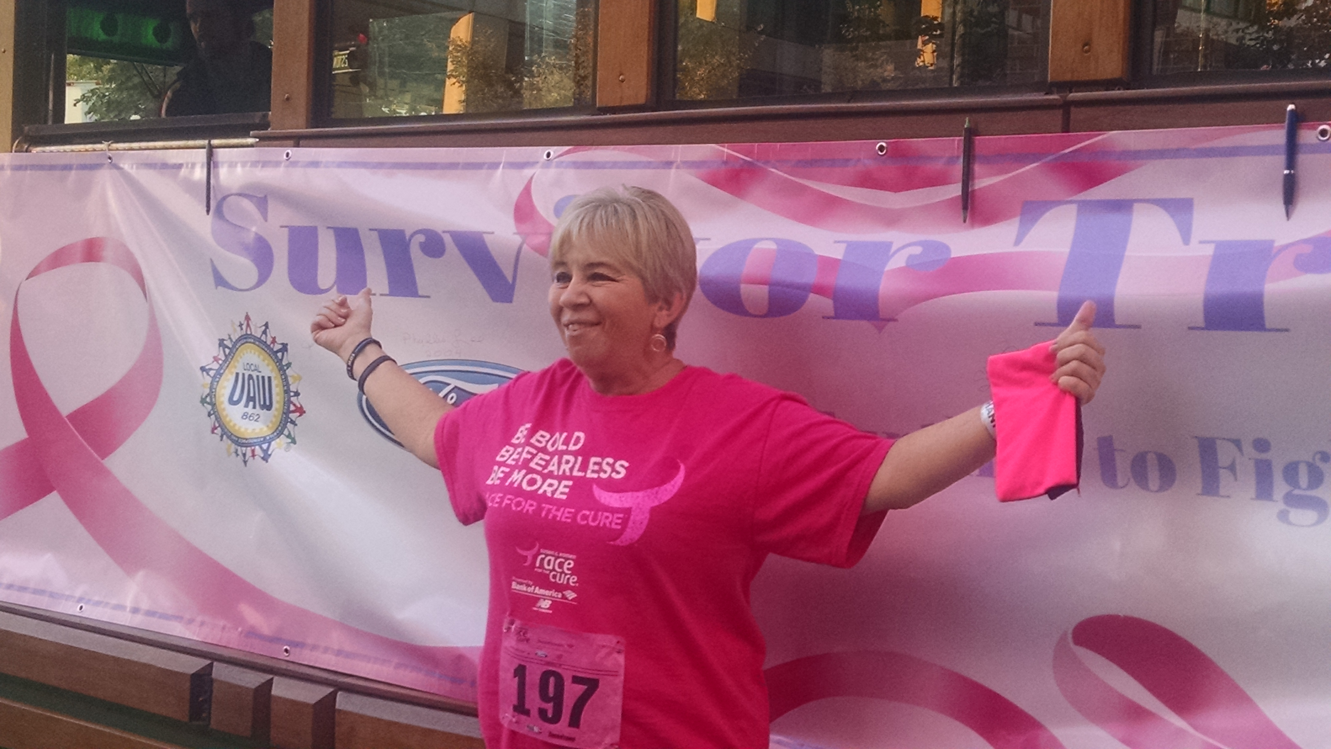 2017 Susan Komen Run pictures posted on Facebook
